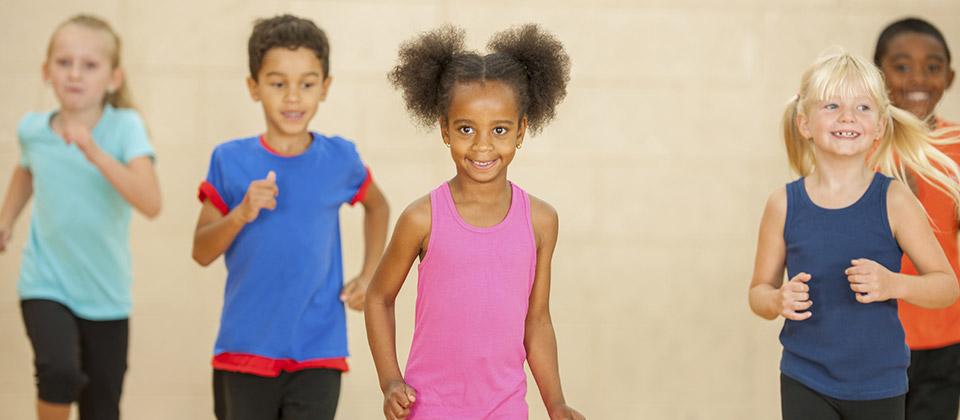 Les différents types d'activités physiques chez les enfants