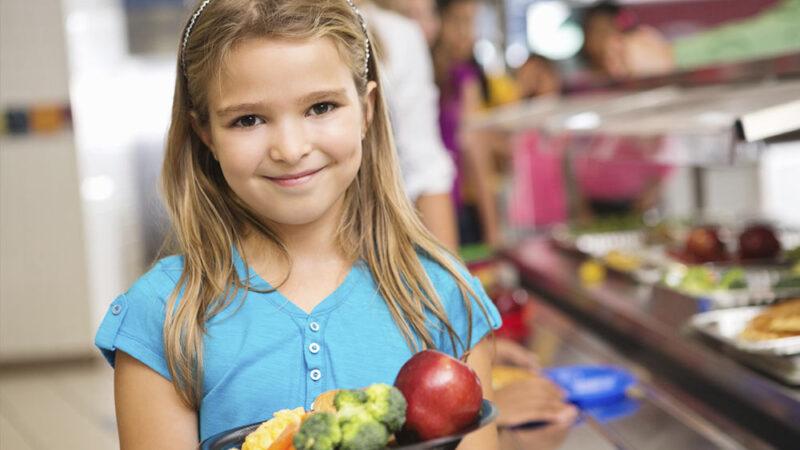 L'alimentation des enfants de 3 à 11 ans.